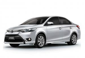 Toyota Vios Gray